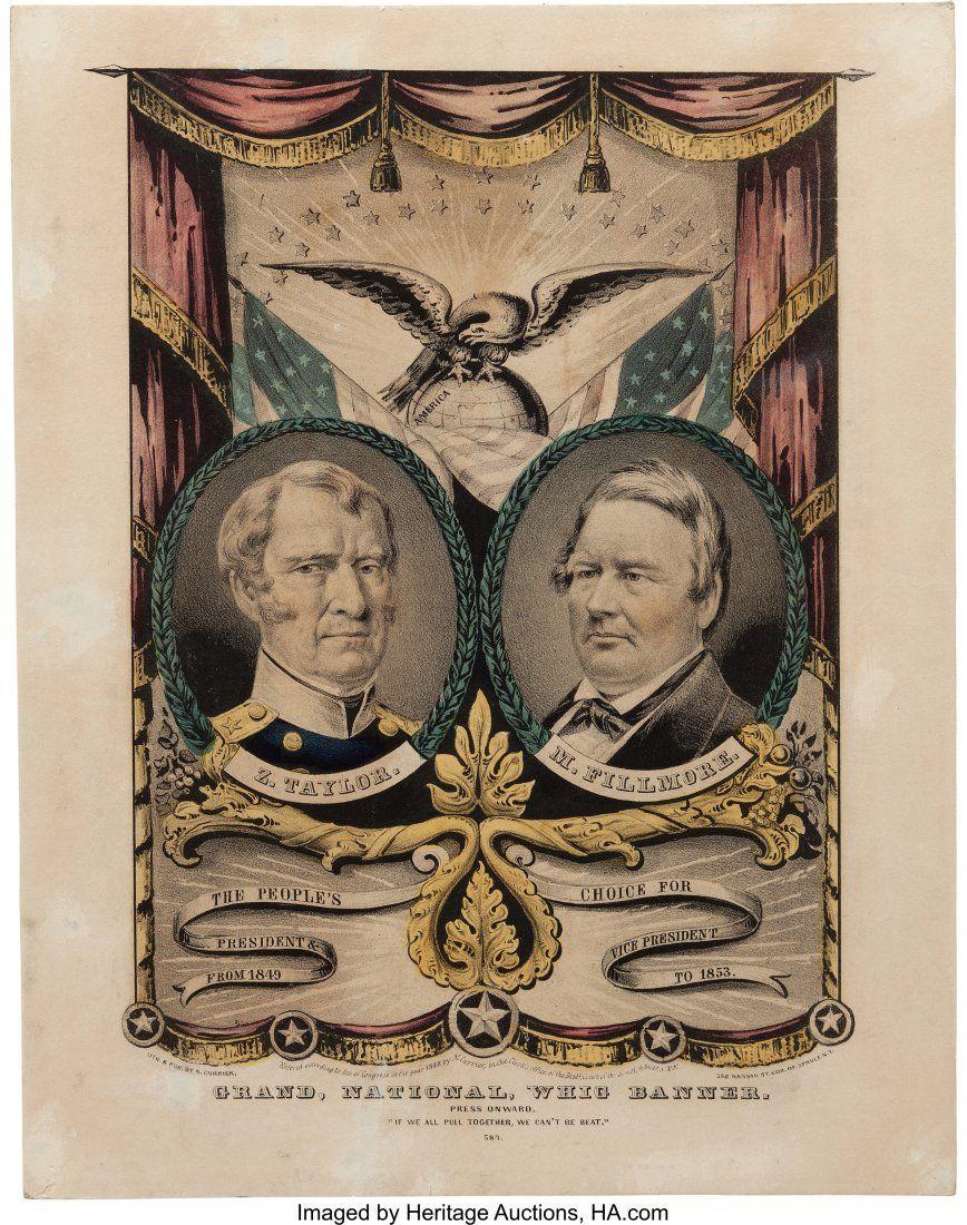 43105: Taylor & Fillmore: Jugate Grand National Banner.