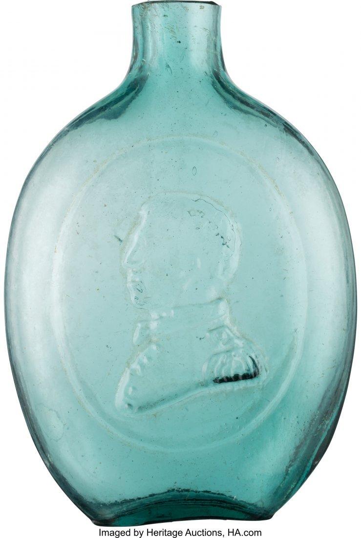 43107: Taylor & Washington: Half-Pint Blue/Green Whiske
