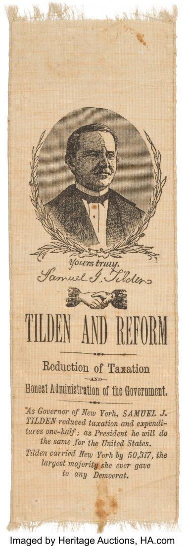 43301: Samuel J. Tilden: The Best Ribbon Design for thi