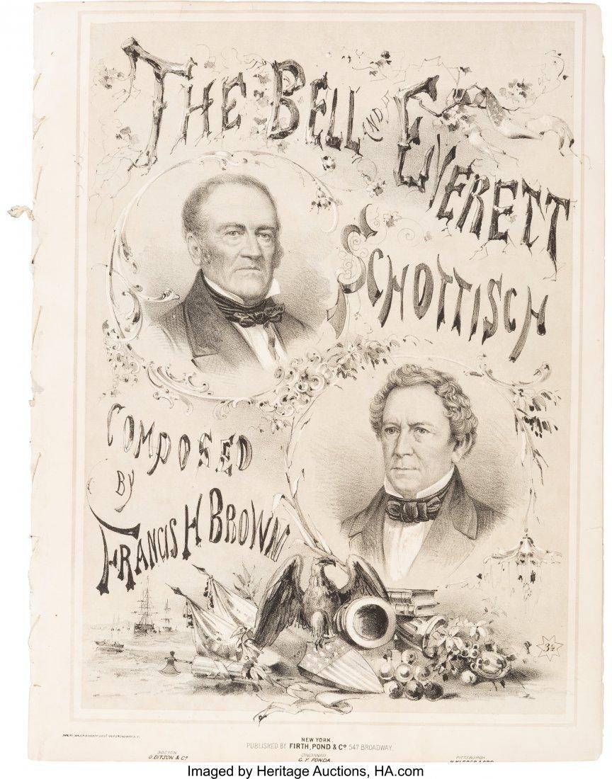43202: Bell & Everett: Graphic and Rare Jugate Sheet Mu