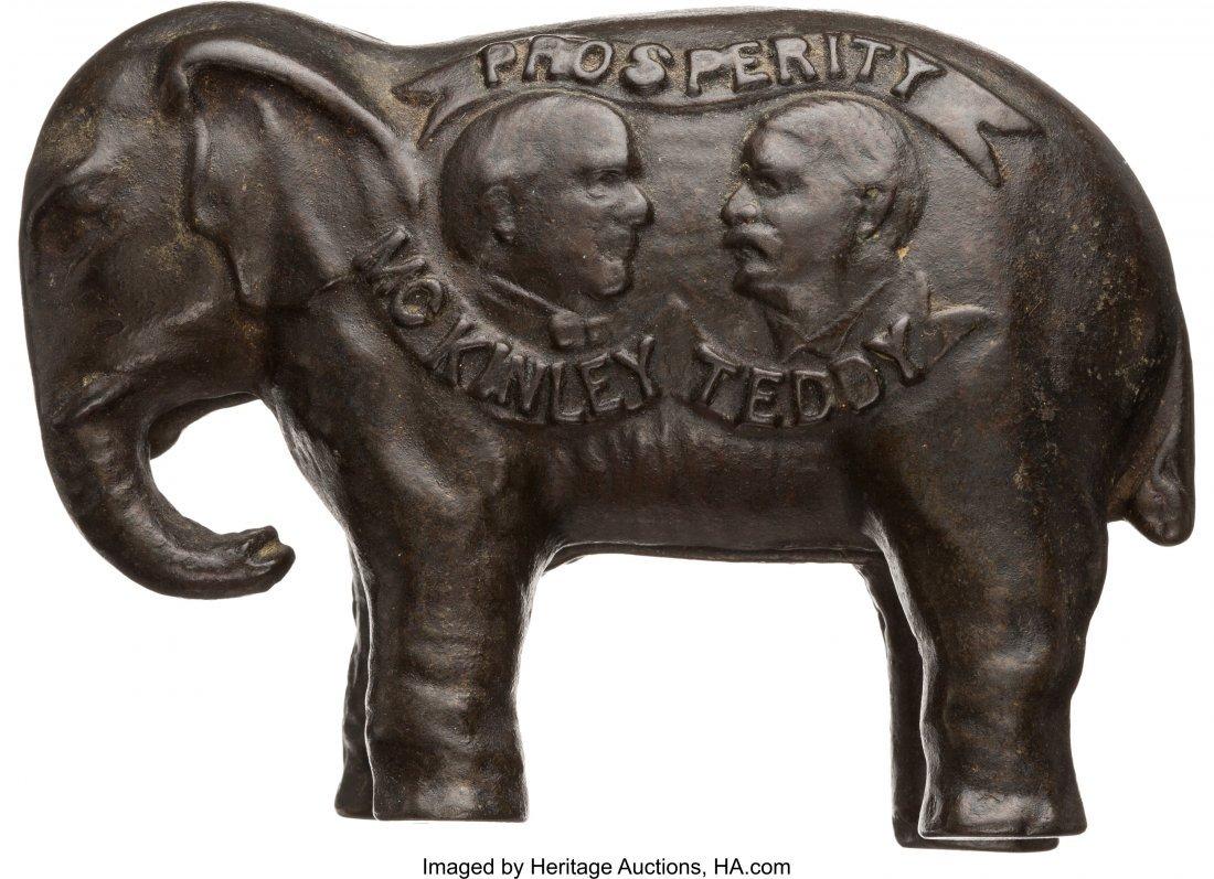 43400: McKinley & Roosevelt: Jugate Still Elephant Bank