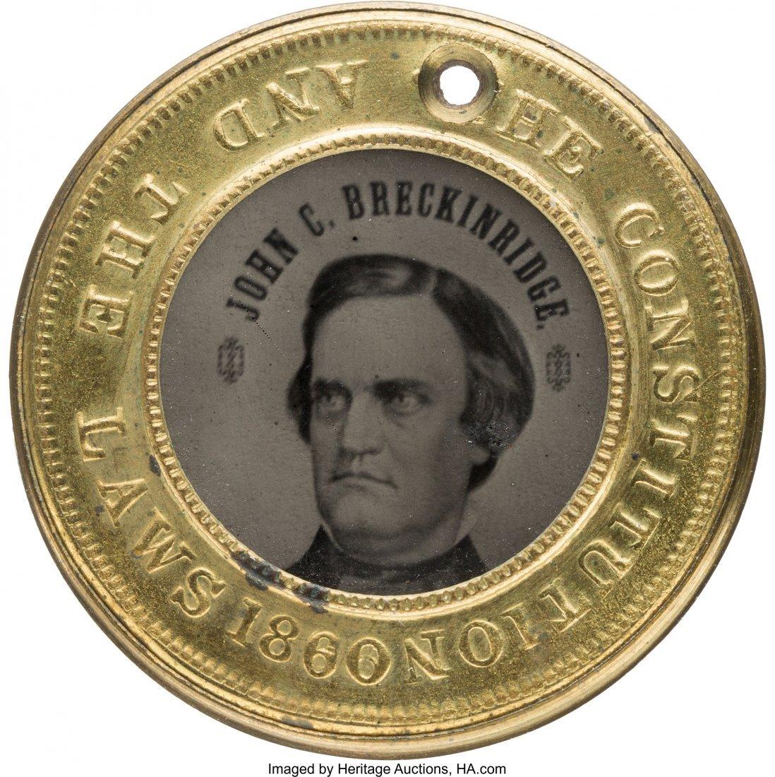 43209: John C. Breckinridge: Gorgeous Back-to-Back Ferr