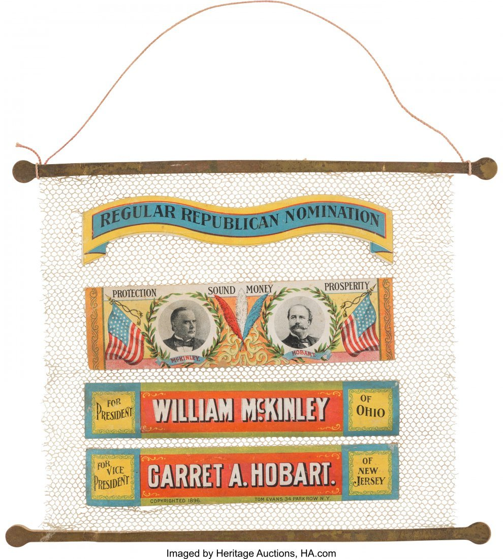 43404: McKinley & Hobart: Colorful Salesman's Sample fo