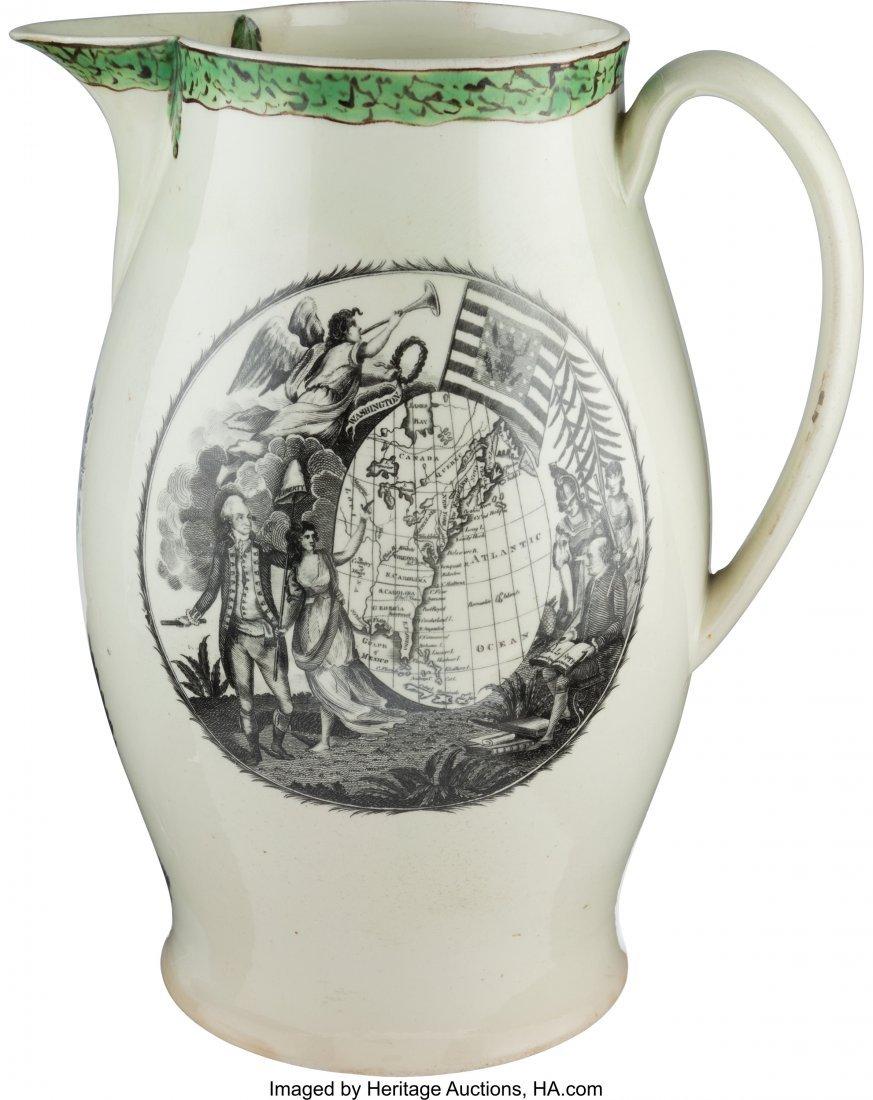 43020: George Washington: Large Liverpool Presentation