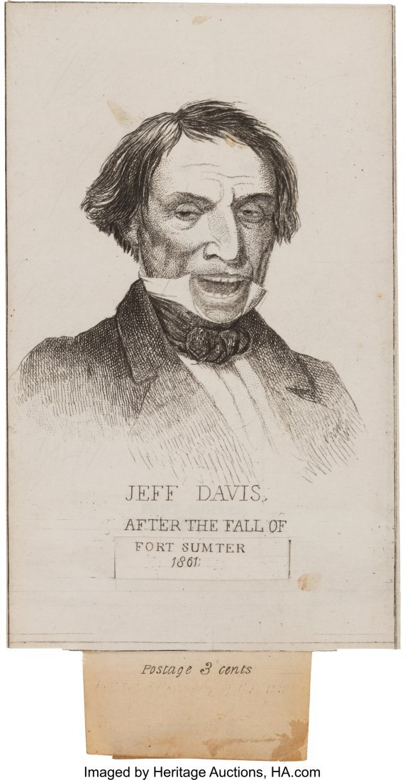 43216: Jefferson Davis: Before-and-After Metamorphosis