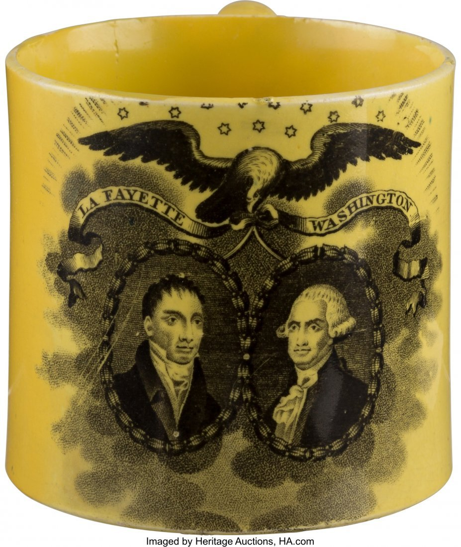 43023: George Washington & Lafayette: Canary Yellow Chi