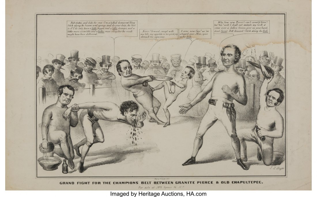 43119: Winfield Scott: Anti-Pierce Double-Jugate Boxing