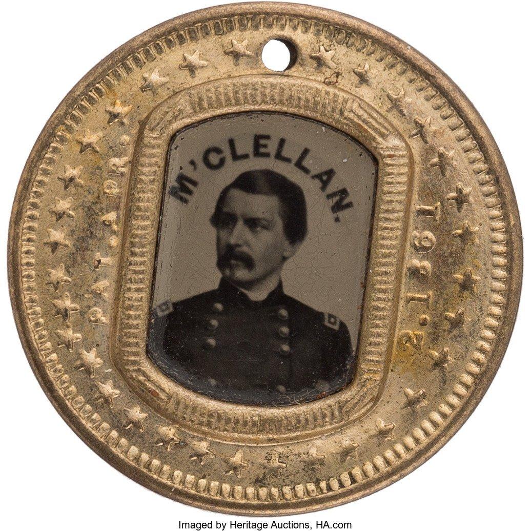 43222: George B. McClellan: Nearly-Pristine Back-to-Bac