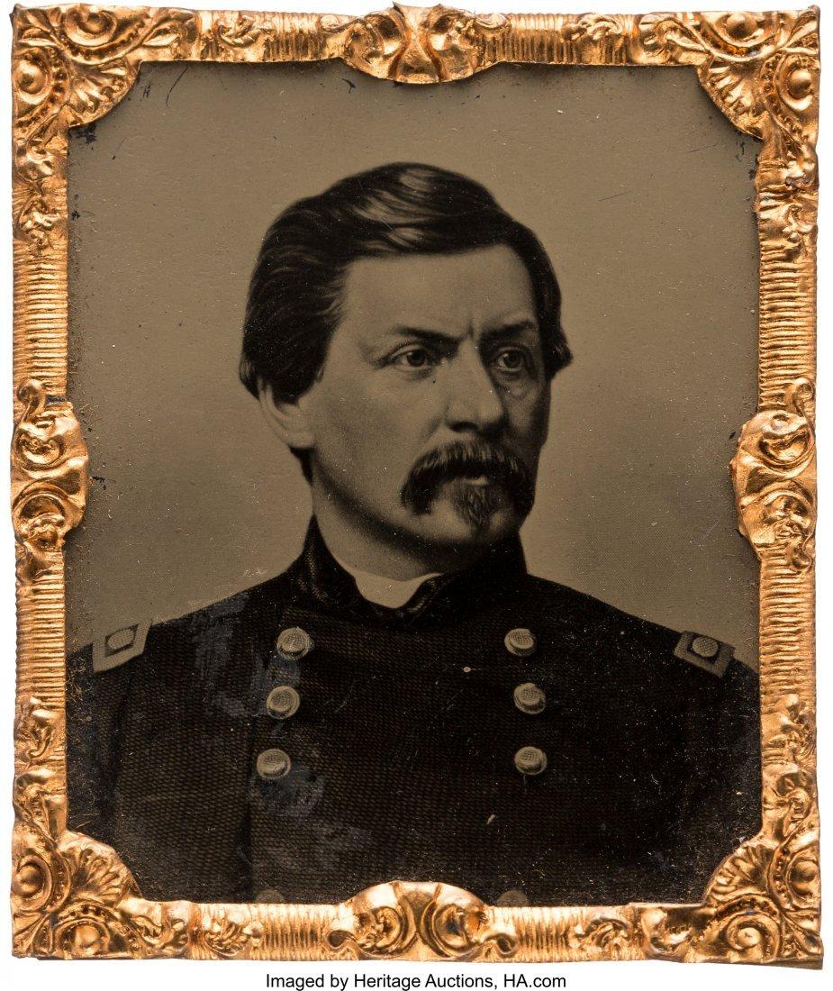 43226: George B. McClellan: Sixteenth Plate Abbott Tint