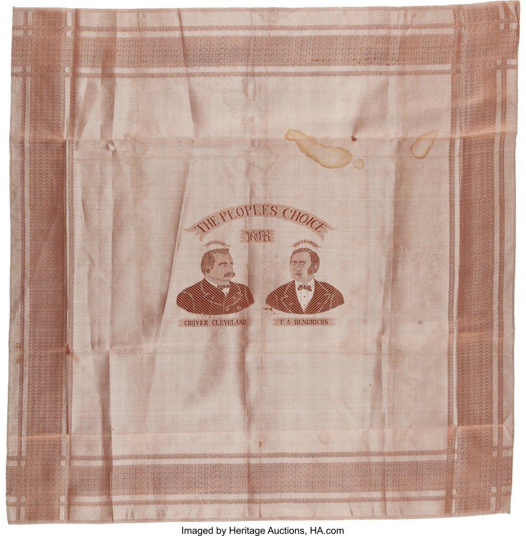43330: Cleveland & Hendricks: Unusual Woven Silk Jugate