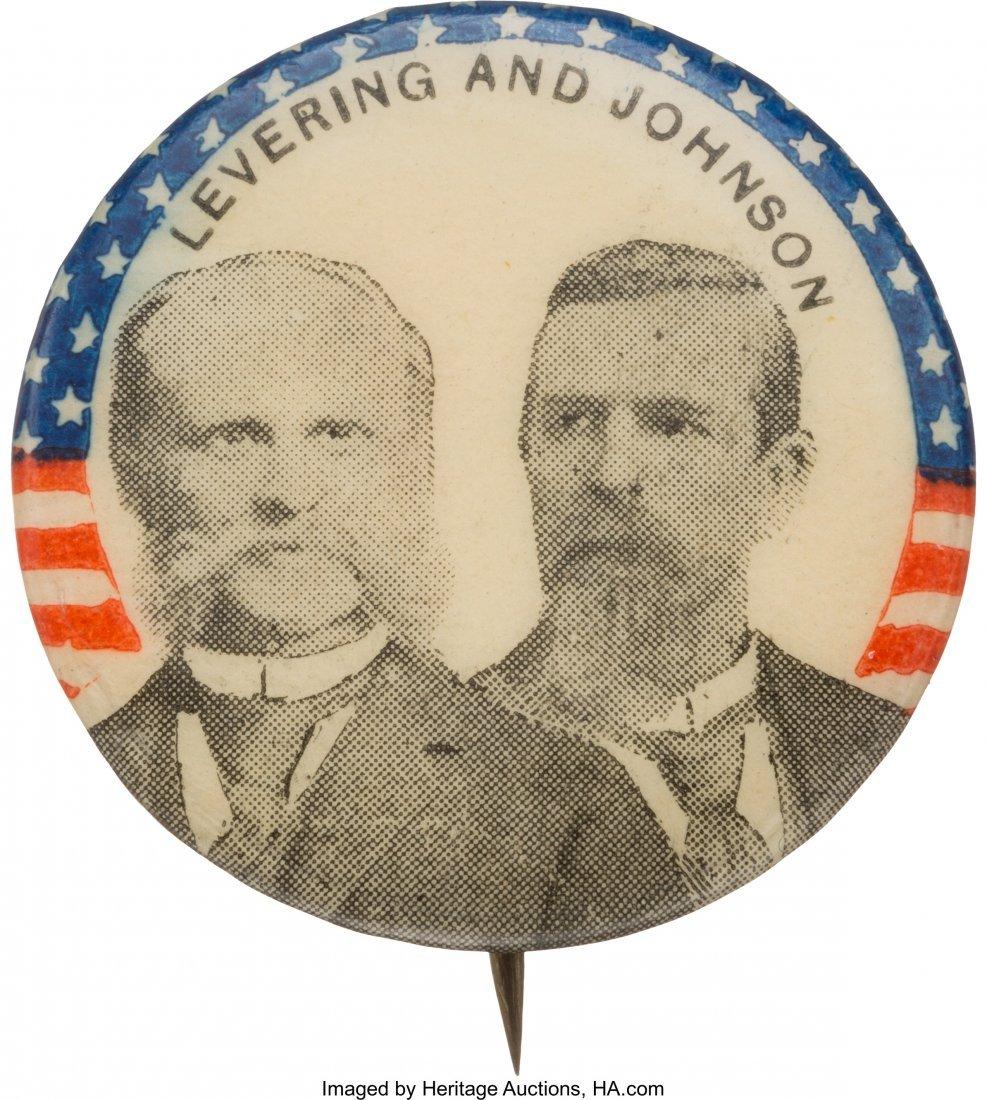 43415: Levering & Johnson: 1896 Prohibition Party Jugat