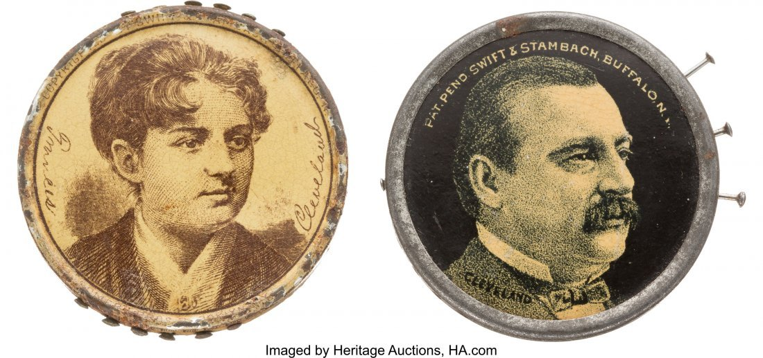 43335: Grover & Frances Cleveland: Pair of Garland Stov