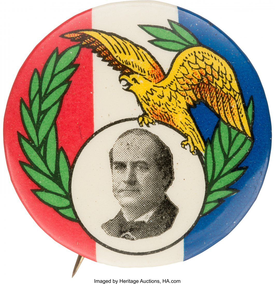 43416: William Jennings Bryan: Striking and Colorful Si