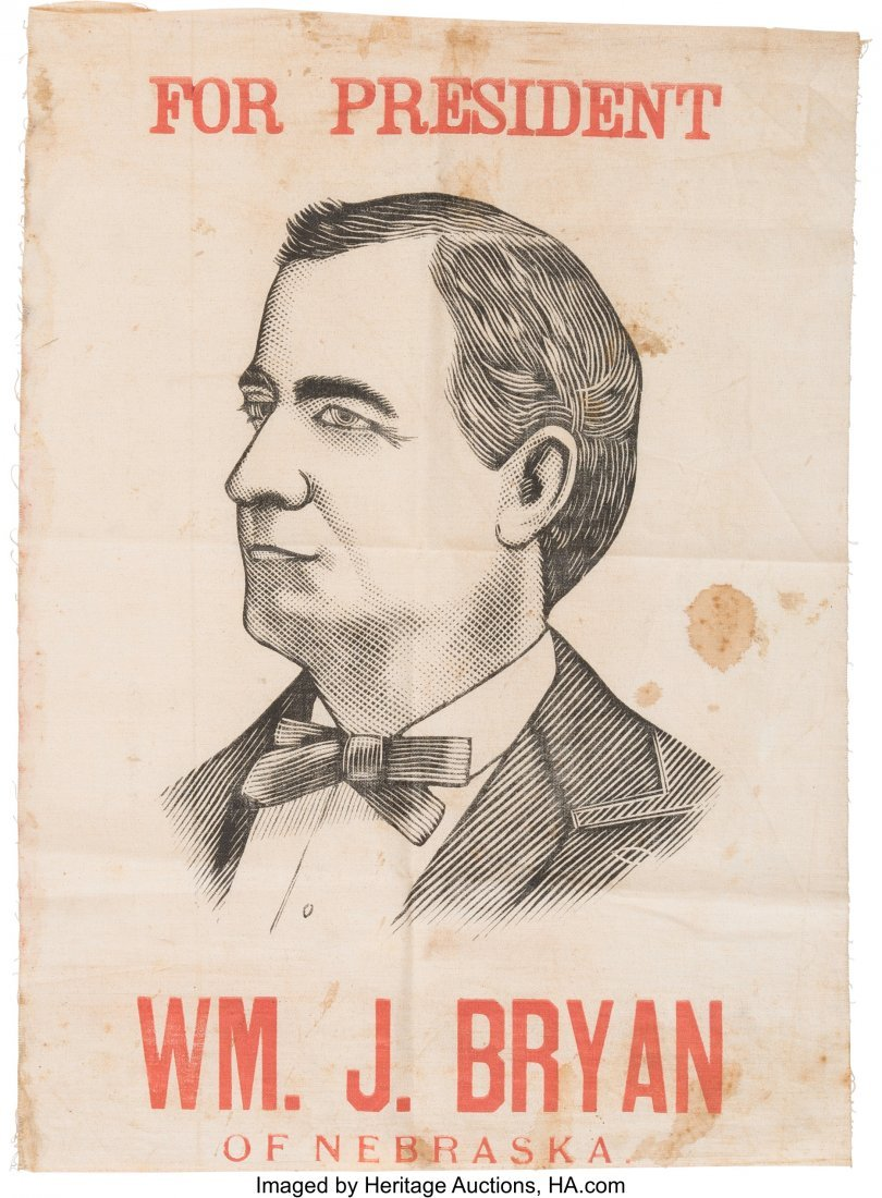 43424: William Jennings Bryan: Never-before-Seen Folksy