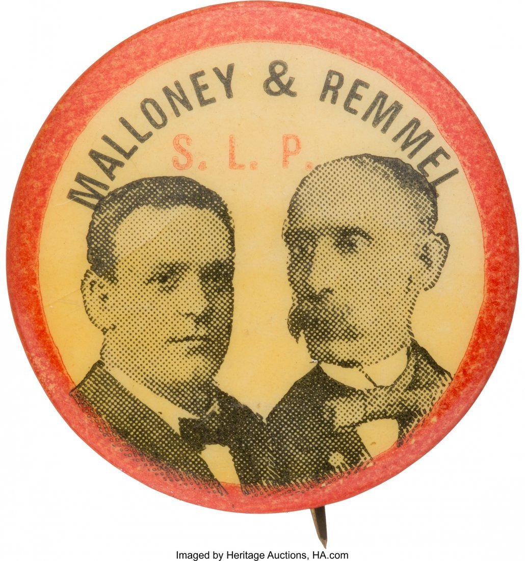 43430: Malloney & Remmel: 1900 Socialist Labor Party Ju