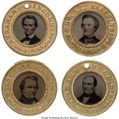 43143 Abraham Lincoln Stephen A Douglas John Bell a