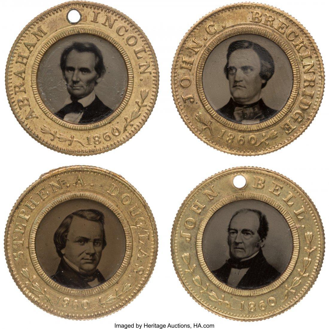 43143: Abraham Lincoln, Stephen A. Douglas, John Bell a