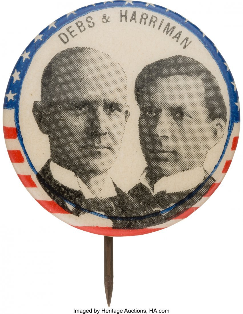 43432: Debs & Harriman: 1900 Social Democratic Party Ju