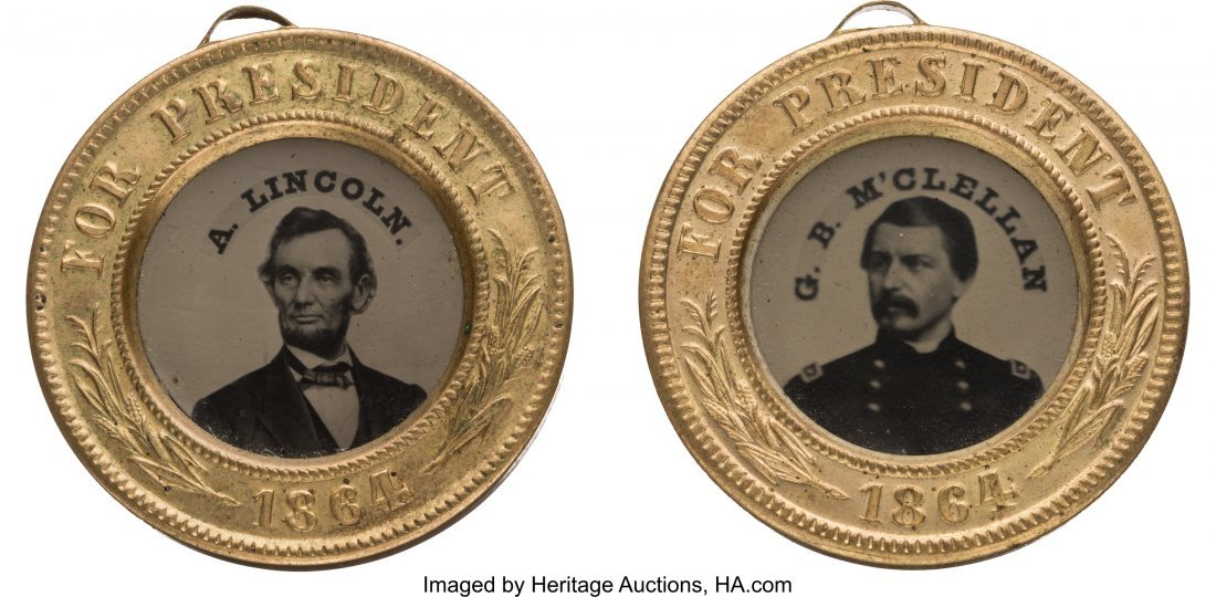 43144: Abraham Lincoln and George B. McClellan: Matchin