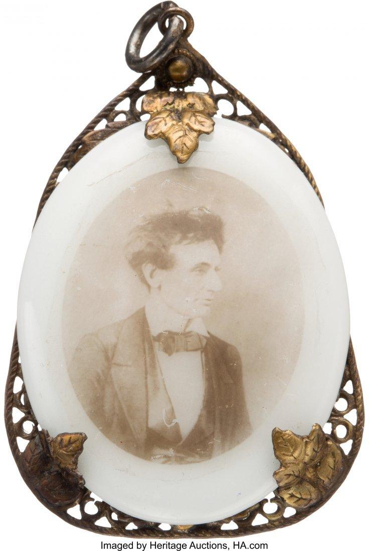 43151: Abraham Lincoln: Unique Beardless Portrait on Mi