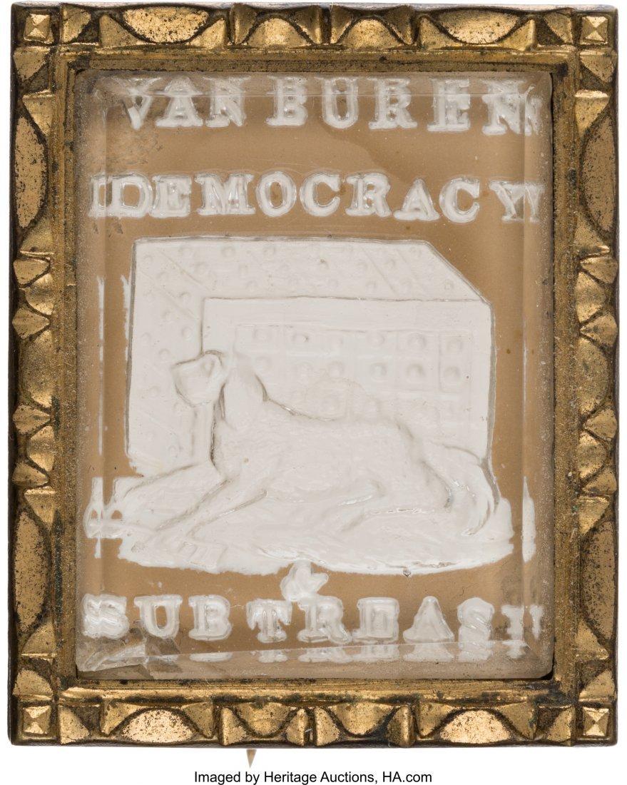 """43056: Martin Van Buren: Spectacular """"Guard Dog & Safe"""""""