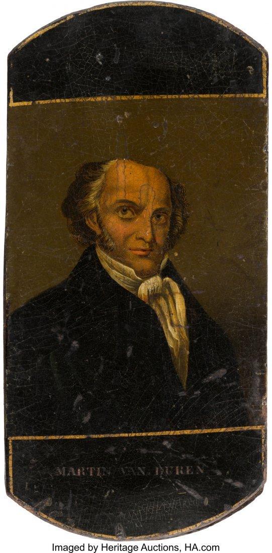 "43057: Martin Van Buren: Unique Stogie Case for ""Old Ki"