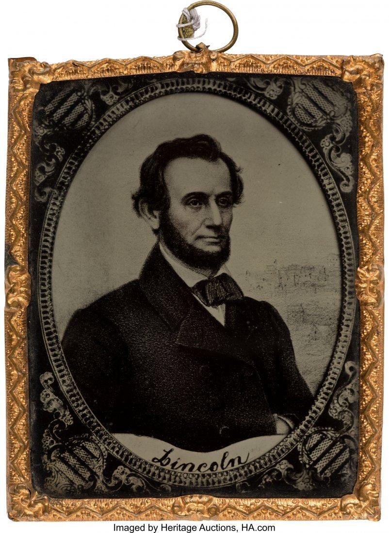 43153: Abraham Lincoln: A Superb Ninth Plate Ruby Ambro