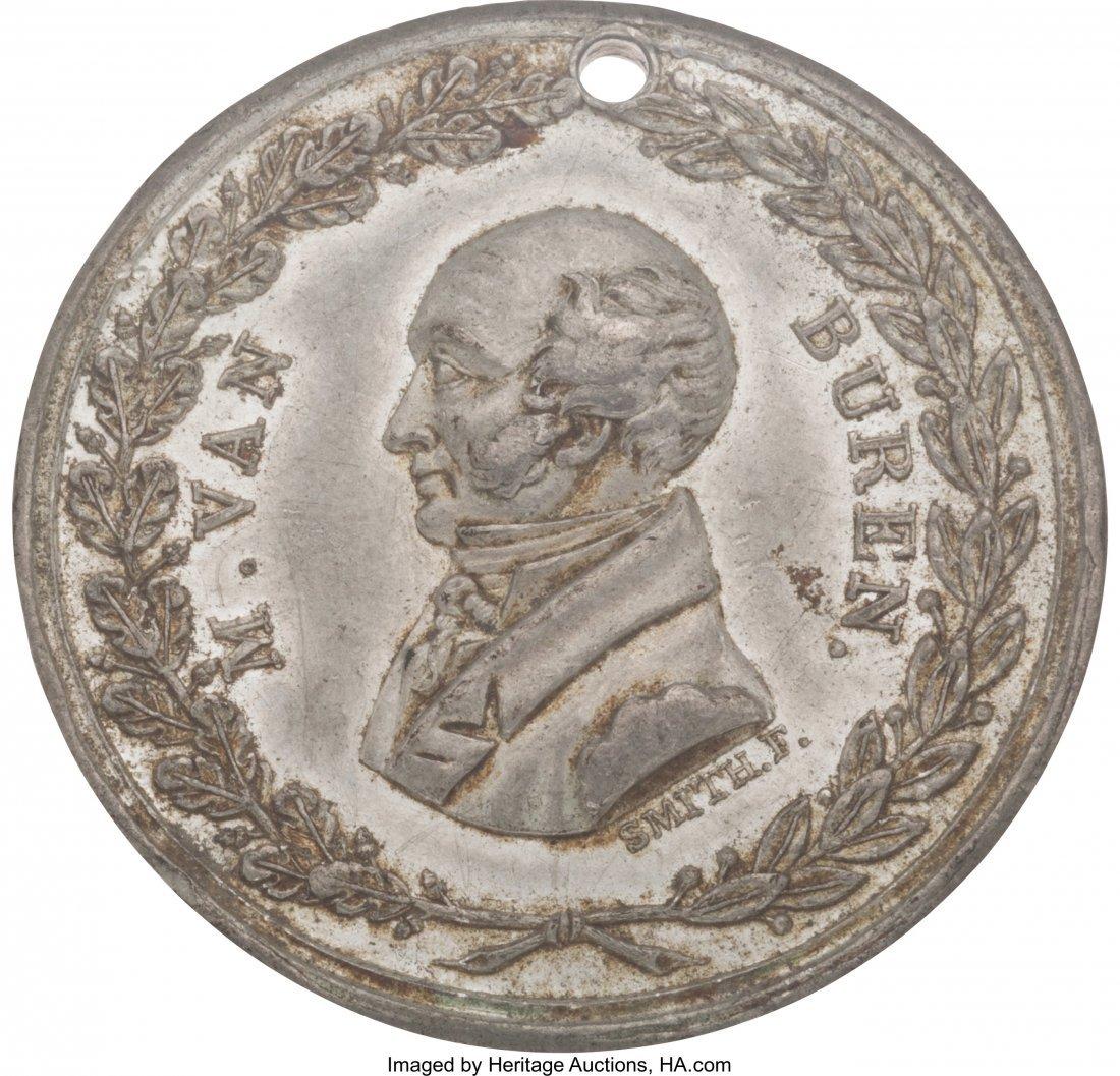 43060: Martin Van Buren: Handsome Medal by Frederick B.