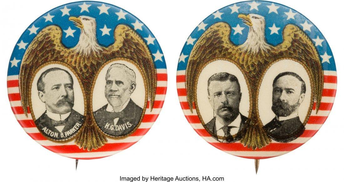 43445: Roosevelt & Fairbanks and Parker & Davis: Matche