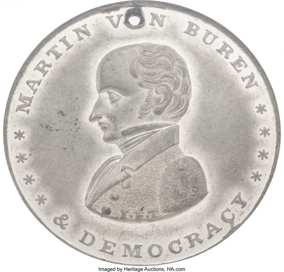 43061: Martin Van Buren: High Grade Temple of Liberty T