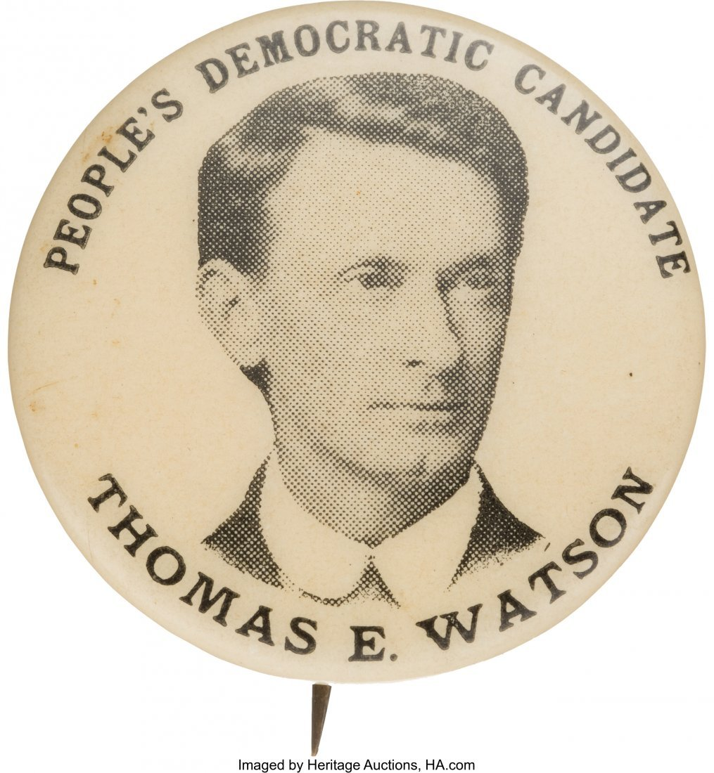 43479: Thomas E. Watson: People's or Populist Party Pic
