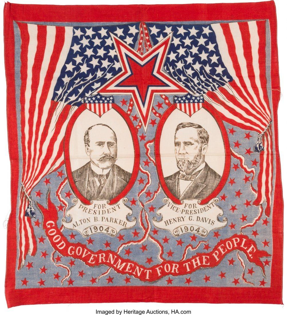 43481: Parker & Davis: Bold Patriotic Jugate Bandana. 2