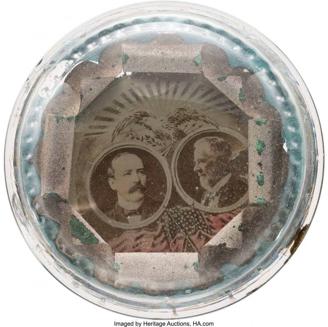 43482: Parker & Davis: Crystallograph Jugate Paperweigh