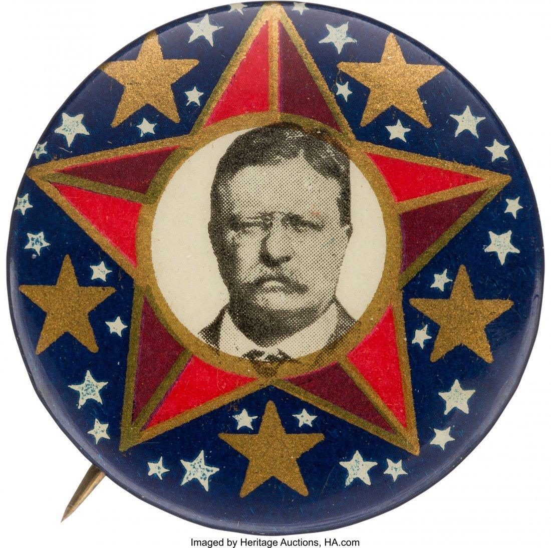 43448: Theodore Roosevelt: Rare and Colorful 1912 Pictu