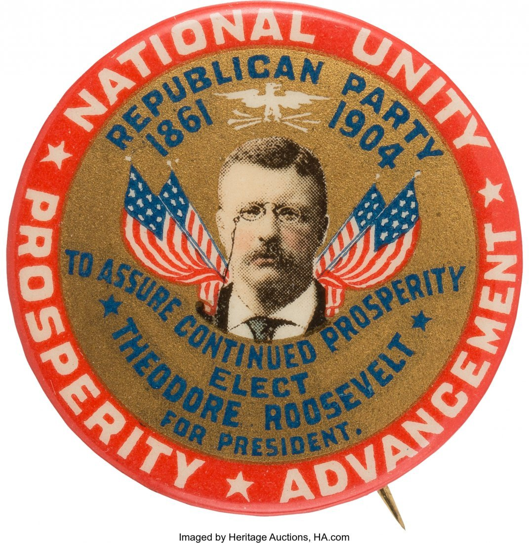 43449: Theodore Roosevelt: One of the Very Best 1904 Po