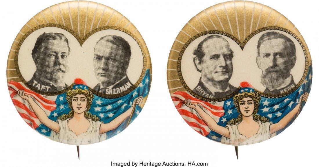43487: Taft & Sherman and Bryan & Kern: Matched Pair of