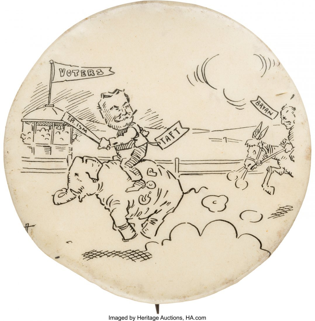 43489: William Howard Taft: Race of the Party Mascots C