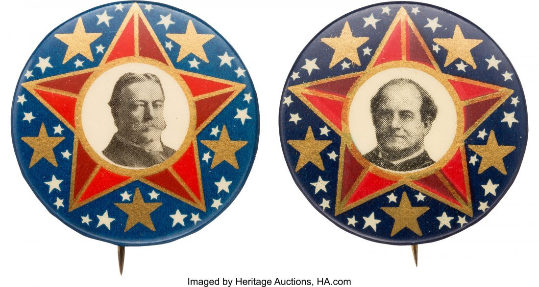 43490: William Howard Taft and William Jennings Bryan: