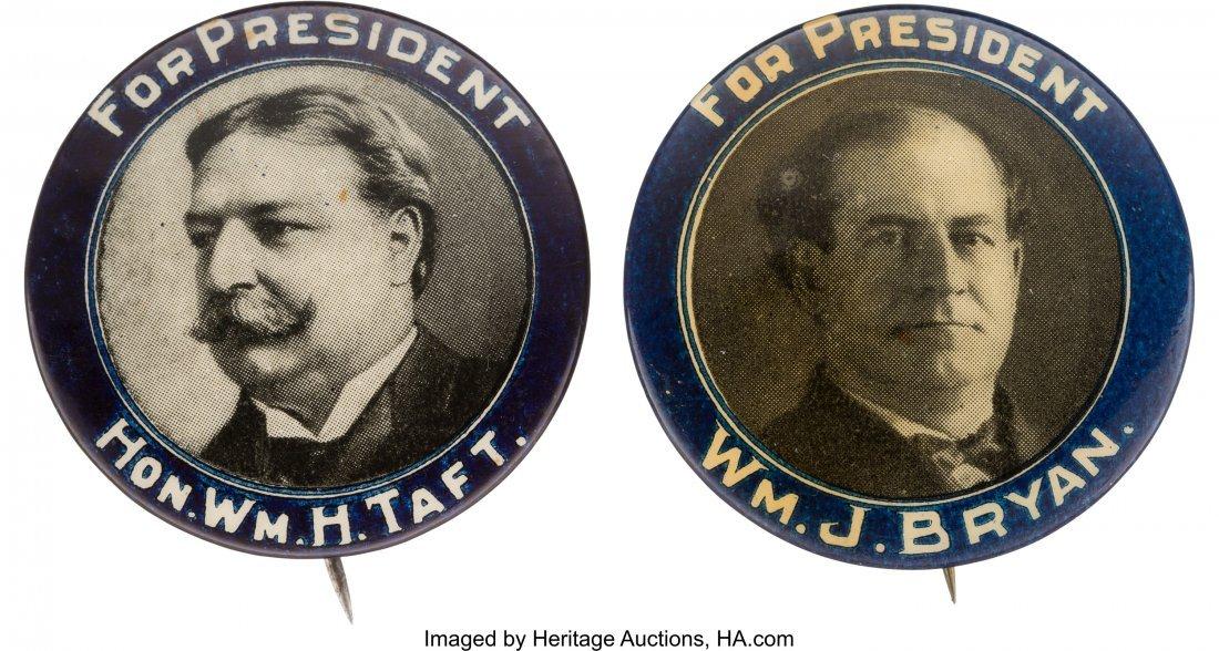 43491: William Howard Taft and William Jennings Bryan:
