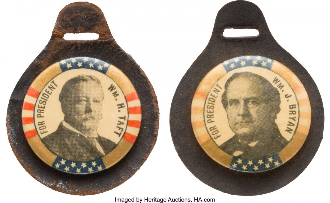 43492: William Howard Taft and William Jennings Bryan: