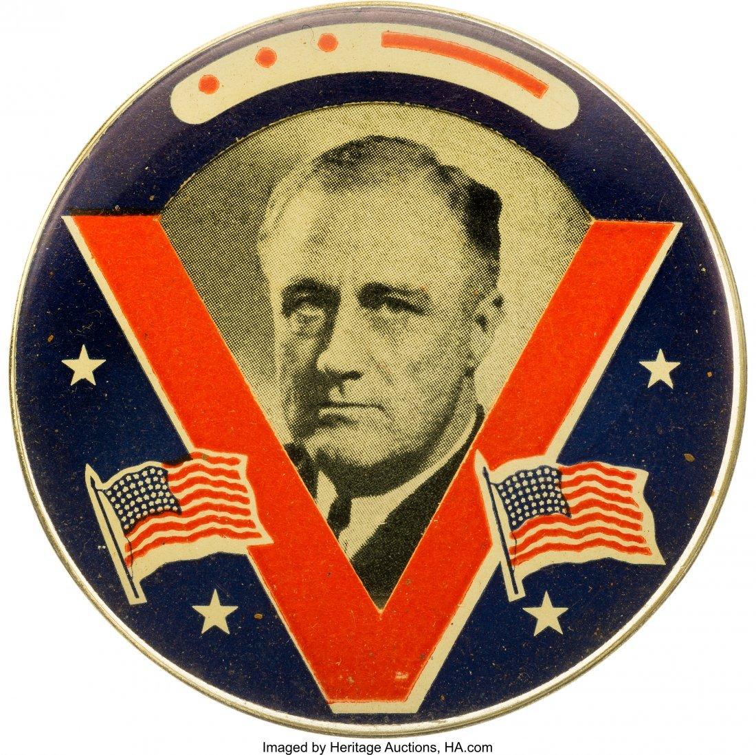 43583: Franklin D. Roosevelt: Rare World War II Victory