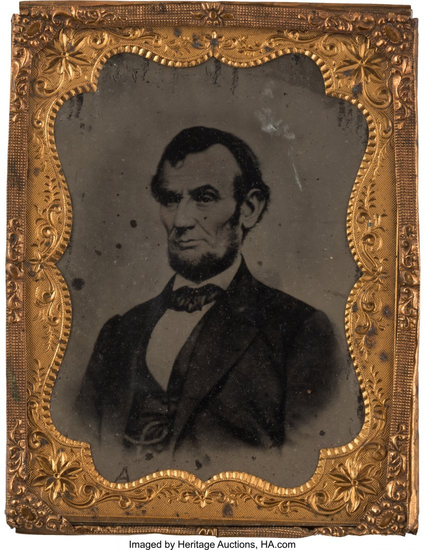 "43165: Abraham Lincoln: Dramatic Large 3.375"" x 4.375"""