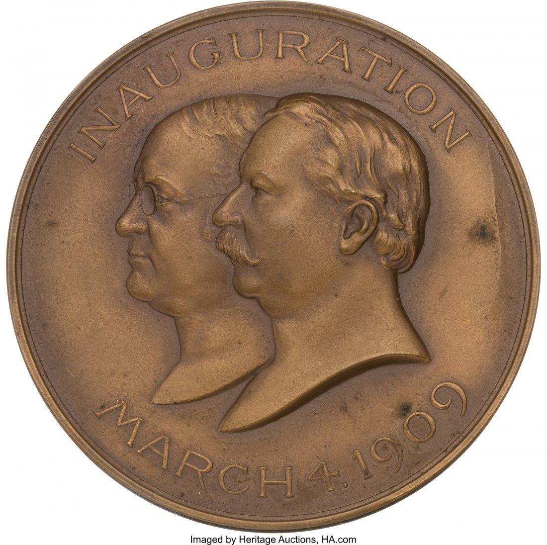 43493: William Howard Taft: Official Inaugural Medal in