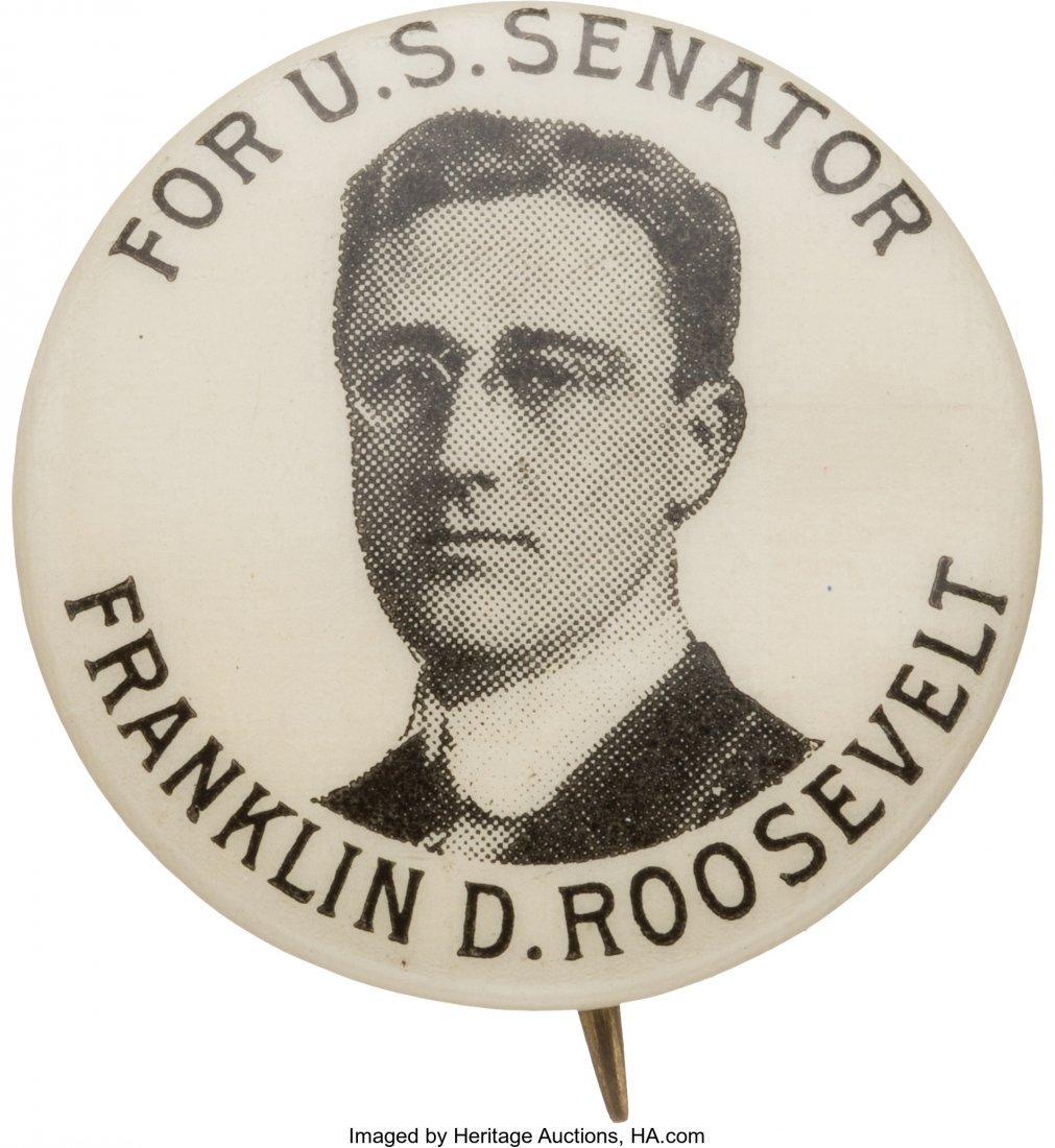 43584: Franklin D. Roosevelt: 1914 Senatorial Picture P