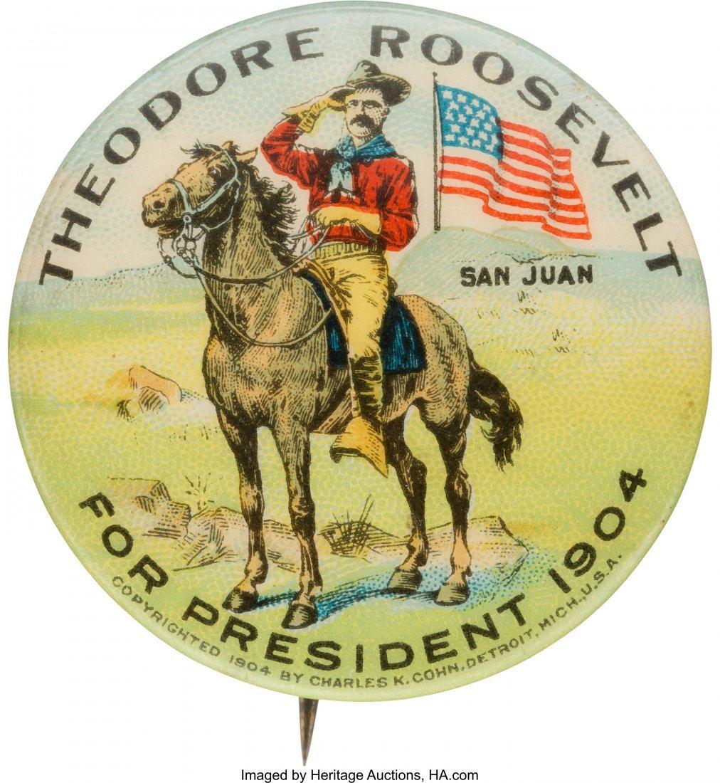 43455: Theodore Roosevelt: Classic San Juan Hill Rough