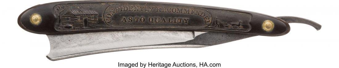 43071: William Henry Harrison: Rare Horn-Handled Straig - 2