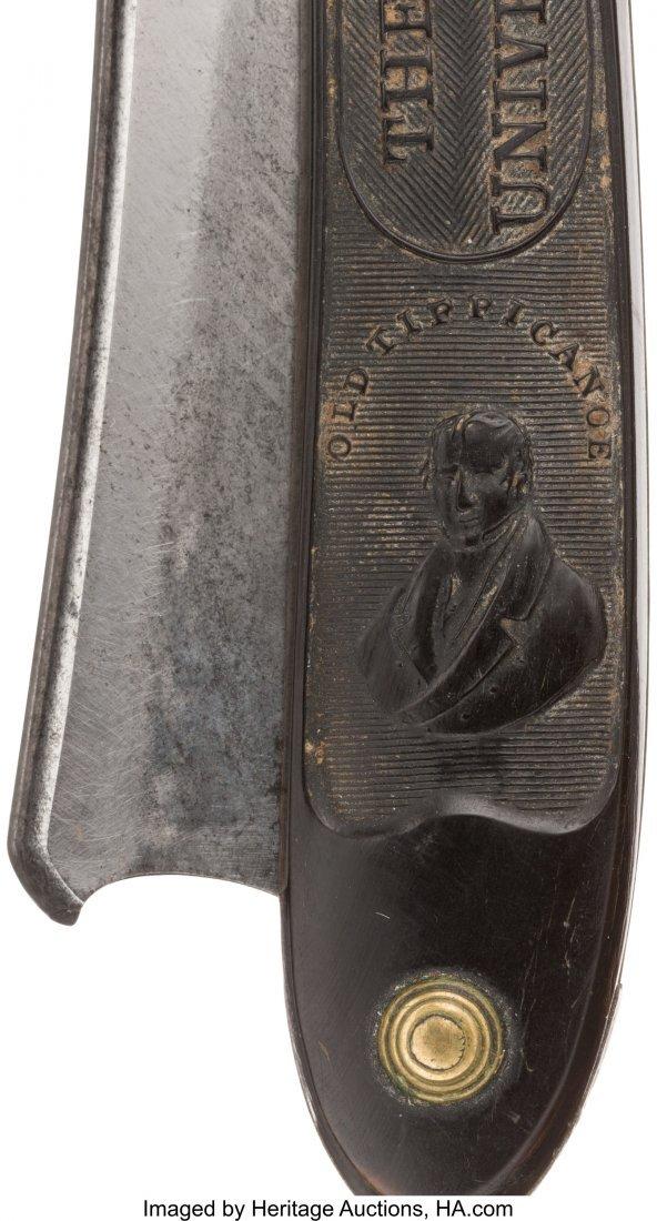 43071: William Henry Harrison: Rare Horn-Handled Straig - 3