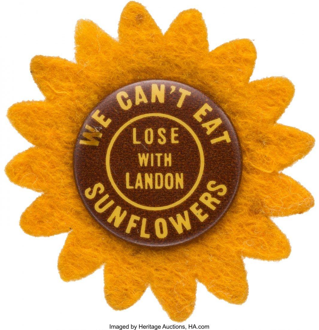 43586: Franklin D. Roosevelt: Great Anti-Landon Sunflow