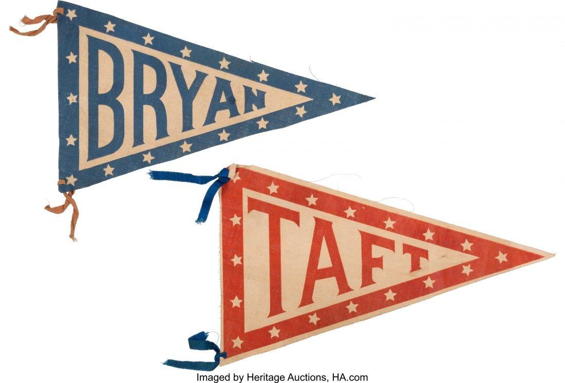 43497: William Howard Taft and William Jennings Bryan: