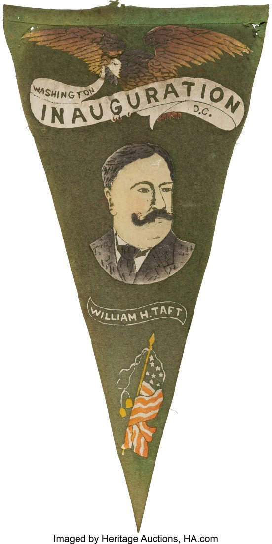 43498: William Howard Taft: Inauguration Portrait Penna